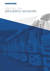 Tapa Reporte de Sustentabilidad CDS